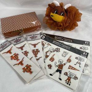 (B💲25) University of Texas UT 7pc Gift Bundle Set